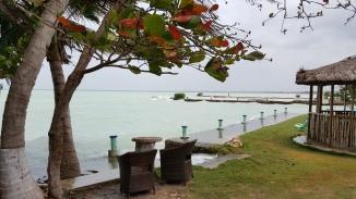 Corazol Bay from nearby restaurant